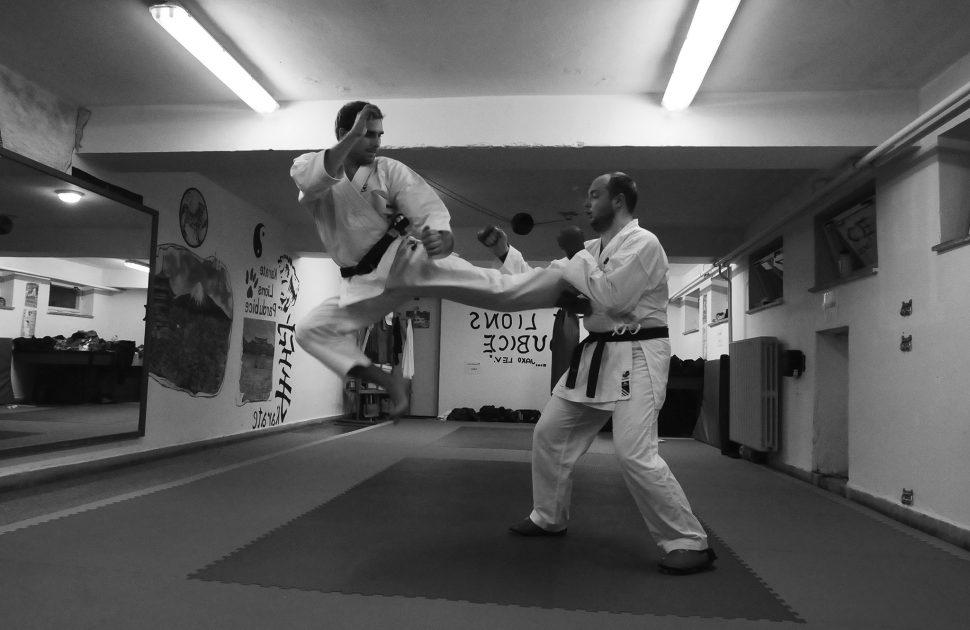 Ondřej Charvát – trenér karate asebeobrany